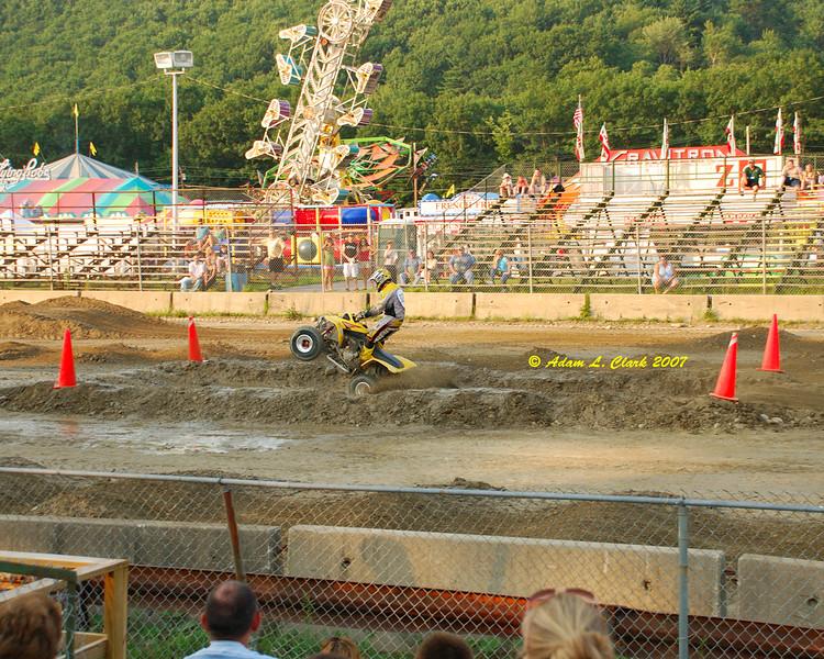 ATV rodeo - sport, up to 450cc class.