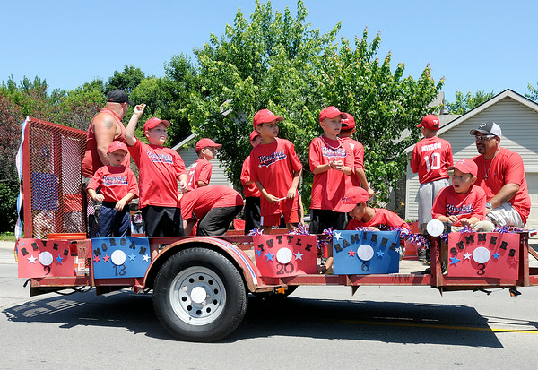Don Knight   The Herald Bulletin<br /> Chesterfield's Independence Day Parade on Friday.