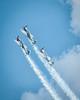 Chicago Air and Water Show 2015; Aerostar aerobatic demo team; 8x10