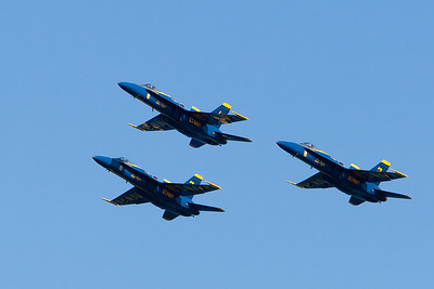 Blue Angels formation, 123