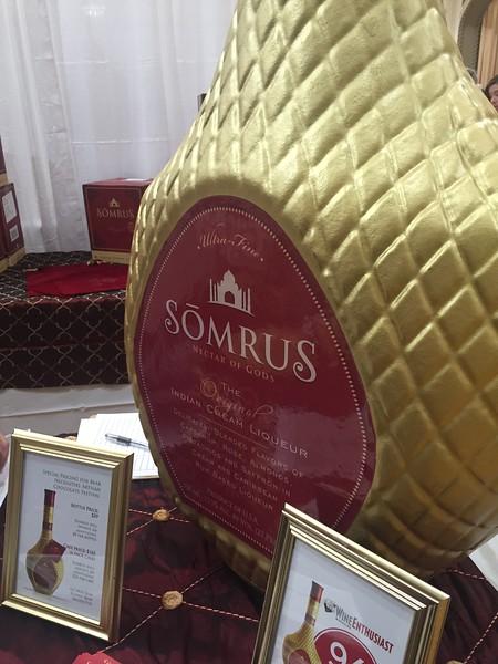Somrus Indian cream liqueur. Made in Chicago, IL.
