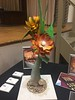 Chocolate flower carved by Executive Chef Pedro Gomez.