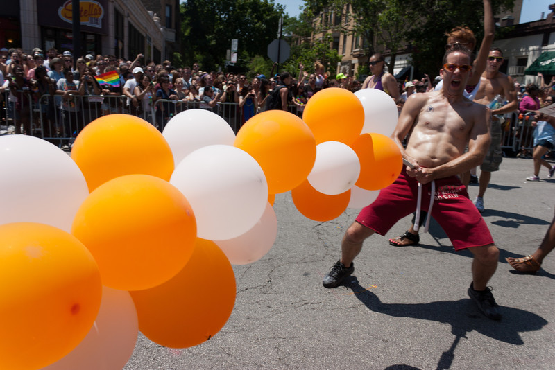 Gay Pride Parade, Chicago
