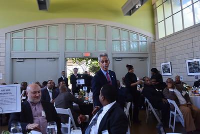 Mayor Rahm Emanuel Speaks With W. Deen Mohammed II