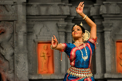 "Odissi: Sonali Mishra, Bhubaneshwar Performance at Chidambaram Natyanjali Dance Festival 2015 held at Chidambaram in February 2015. The festival is known for its serenity and uniqueness of the devotion of the dancers dedicating their ""Natya"" (Dance) as ""Anjali"" (Offering) and worship to the Lord of Dance - Lord Nataraja (Shiva)."