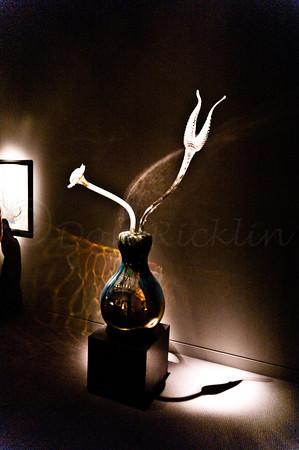 Ikibana in Venetian vase