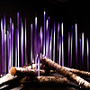 Birch Logs with Neodymium Reeds.