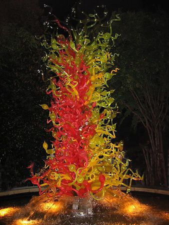 Chihuly Lights, Atlanta - 14 Sep 2004