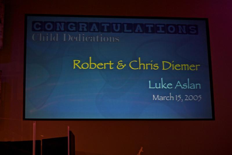 <h3><strong>Robert & Chris Diemer</strong></h3> Luke Aslan March 15. 2005
