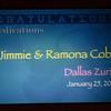 <h3><strong>Jimmie & Ramona Cobb</strong></h3> Dallas Zuriel January 25. 2007
