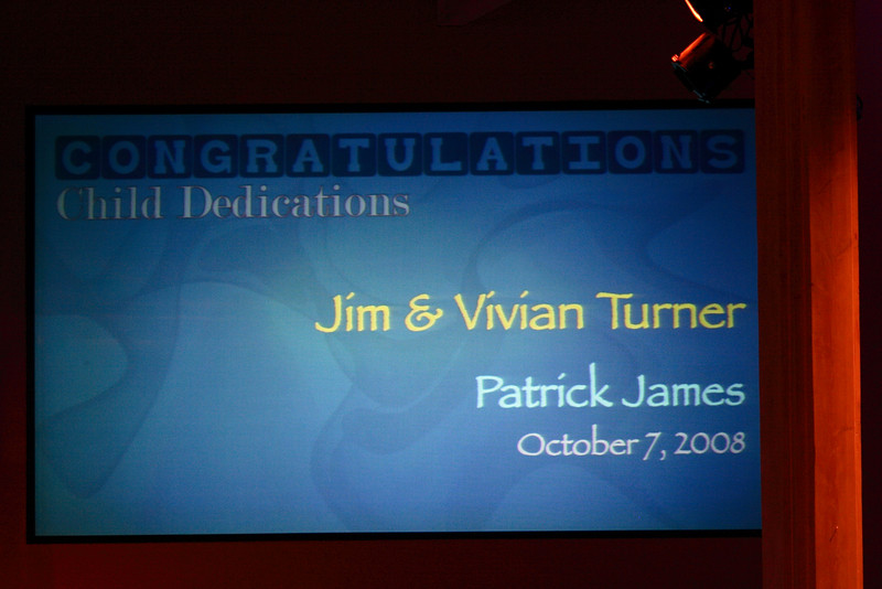 <h3><strong>Jim & Vivian Turner</strong></h3> Patrick James October 7. 2008