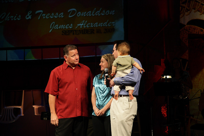 <center>Chris & Tressa Donaldson James Alexander – September 10, 2009