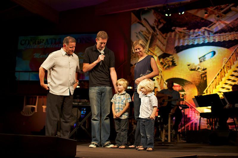 <center>Mark & Allyson Keller Benjamin - June 25. 2006 Samuel - October 14. 2007