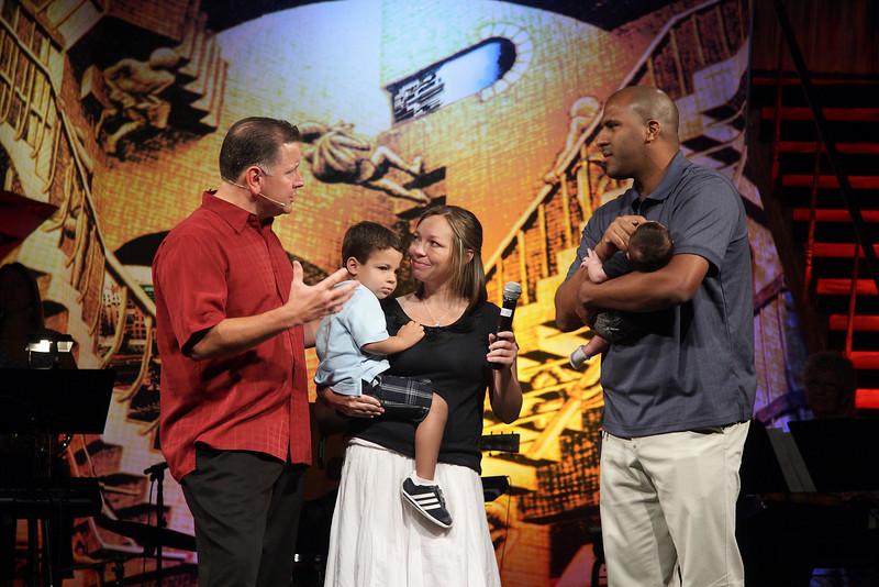 <center>Matthew & Stacy Williams Noah Matthew – June 28, 2007 Luke Austin – May 21, 2010