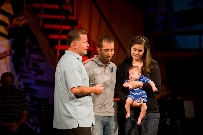 <center>Jeremy & Whitney Goodrich James Michael – February 25, 2010