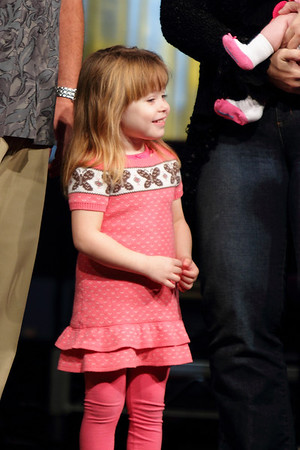 Child Dedications - November 2010