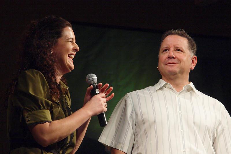 <center>Stephanie Schwartz & Mike Fabarez</center>