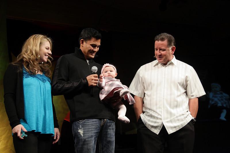 <center>Sean & Stacy Kalub Madison Rene September 20, 2009</center>
