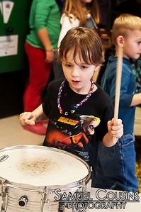 PMF Instrument Petting Zoo at the Children's Museum