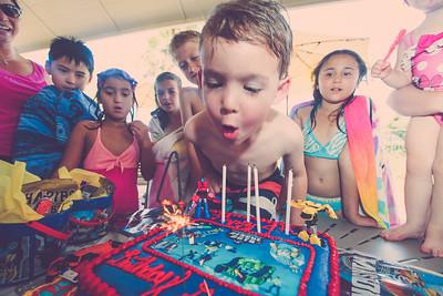 Grayson's 4th Birthday