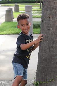 Landon is 4!