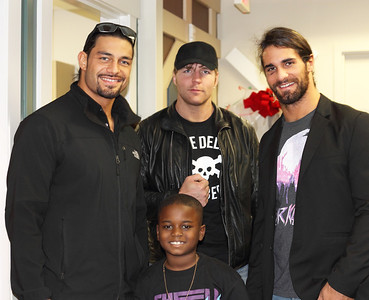 WWE's The Shield at the CBCC