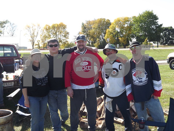 Left to right; Laura Franks, Jerry Straight,  Micheal Merical, Doc, and Marc Kenny.