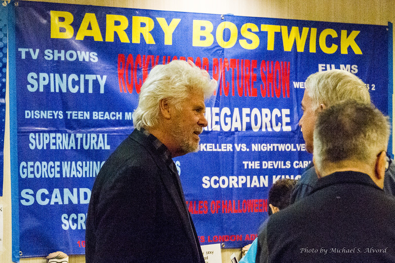 Barry Bostwick from Rocky Horror Picture Show, SpinCity and many other shows.