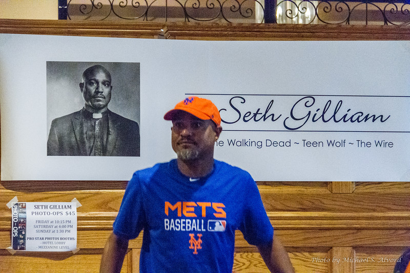 Seth Gilliam from the Walking Dead.
