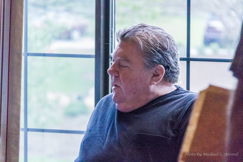 George Wendt from Cheers.