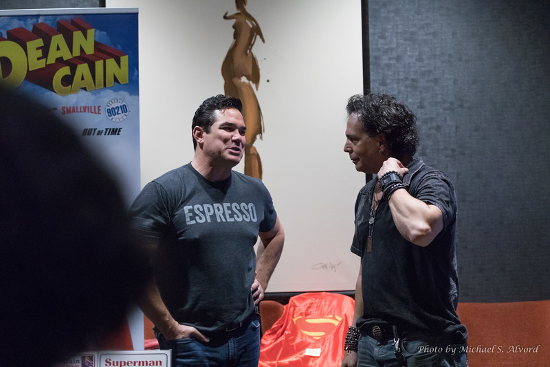 Dean Cain – Superman along with Richard Grieco from 21 JumpStreet