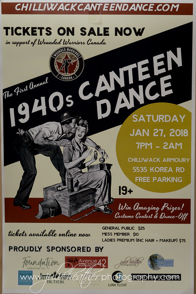 Chilliwack's 1st Annual 1940's Canteen Dance