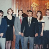 This was actually NOT taken at the competition. This was several months later in Rochester, NY, when our class went to meet Sifu Duteau and take our tests. Left to right is Jack, Axie, Arthur, Sifu, Valerie, and Phillip.
