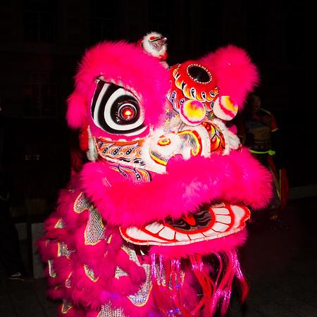 Chinese New Year Eve - London Eye