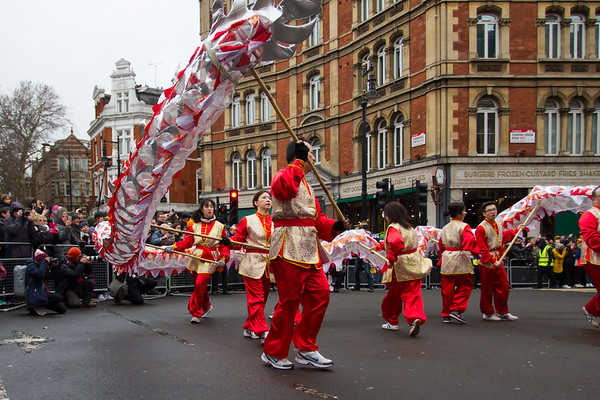 The festivities kick off with a vibrant parade in and around Chinatown