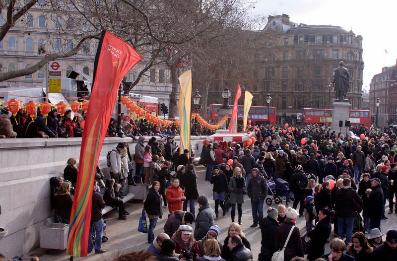 Chinese new year celebrations London 2009