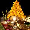 Solanum Mammosum in a Ox Bronze Vase