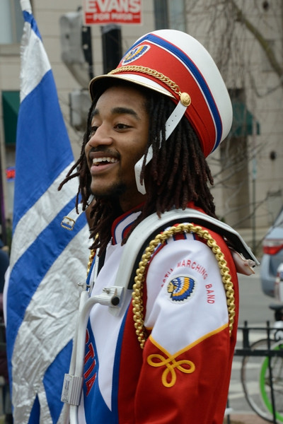 Anacostia High School Band snare drummer.