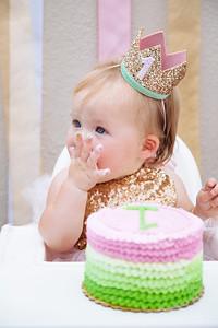 Chloe turns 1
