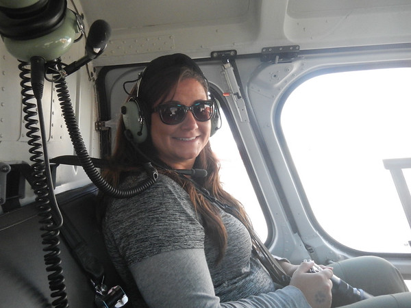 First helicopter ride of our lives!