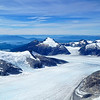 More arial view of the Juneau ice field