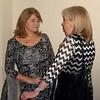Delia DiBiasi and Margaret Quinn<br /> Chris Perrys 70th bithday party<br /> Lansdowne Hotel Belfast<br /> Nov 2014