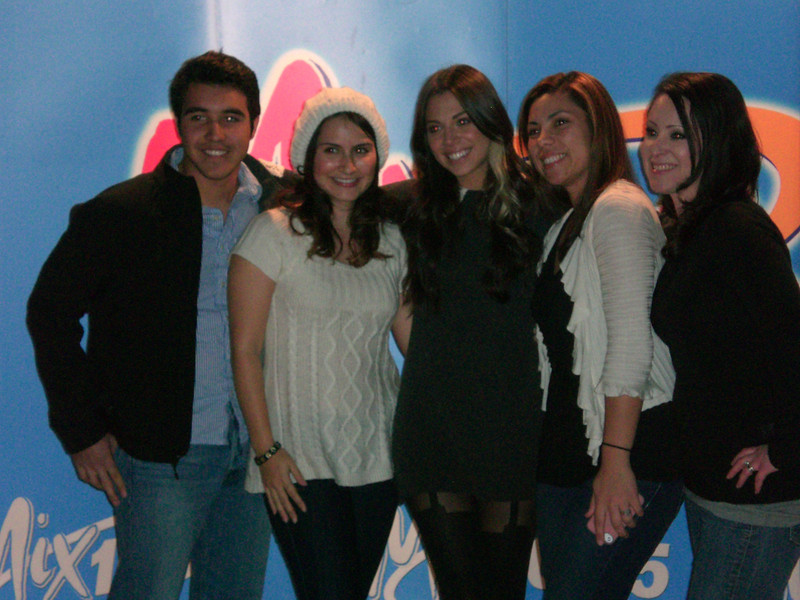 Christina poses for photos with some of her fans. <br /> <br /> Photos by Sophia M. Papadopoulos