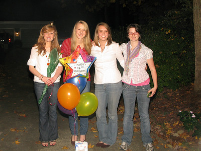 Christine's 16th Birthday 2008