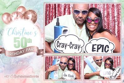 Christine's 50th Birthday Party  7-28-18