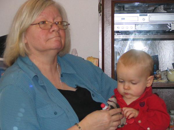 Christmas Visit with Grandma Lynn