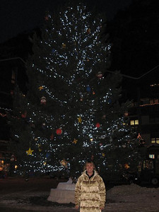 Zermatt Christmas tree