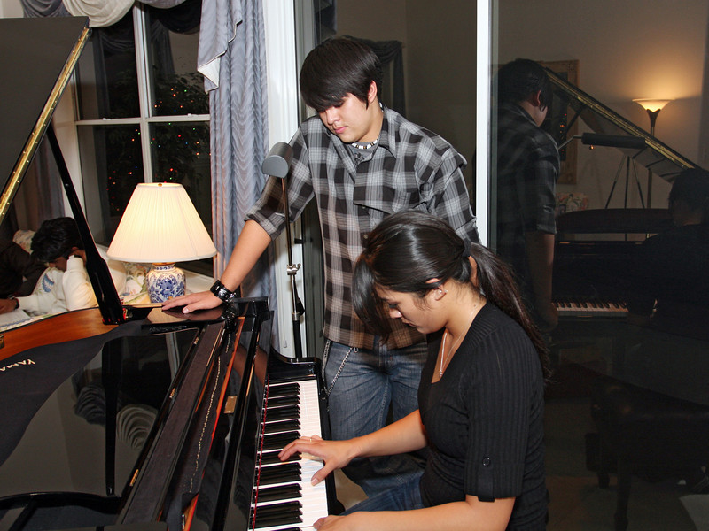 The musicians in the family