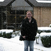 Meaghan standing in the snow