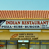 Sam's Pizza in Joshua Tree; selling Pizza, Subs, Burgers, and...Indian food?